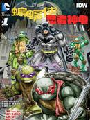 蝙蝠侠与忍者神龟漫画