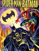 蜘蛛侠与蝙蝠侠漫画